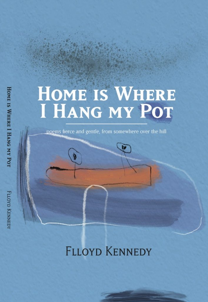 book cover, Home is Where I Hang My Pot